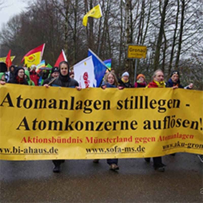Ostermarsch in Gronau am 25.3.2016, Foto: aaa-West
