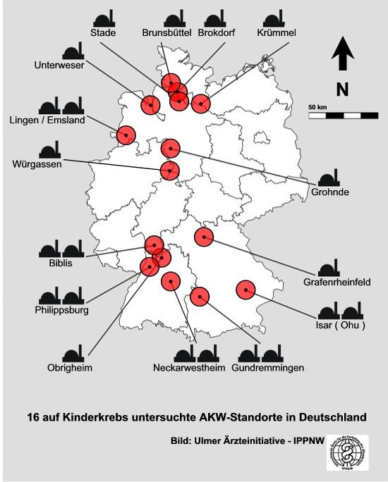 Atomkraftwerke Deutschland Karte.Www Ippnw De Gesundheit