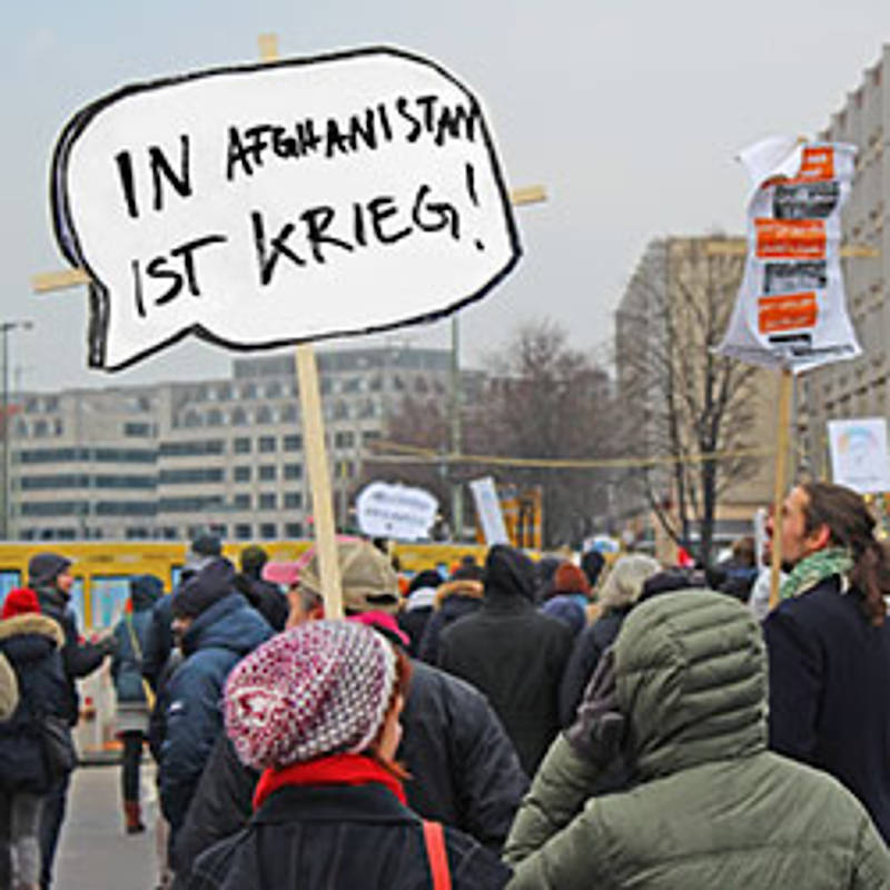 Demonstration gegen Abschiebungen am 11.02.2017 in Berlin, Foto: IPPNW