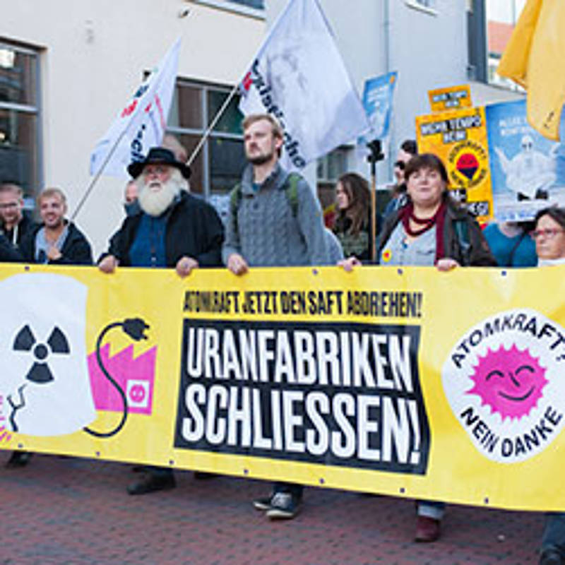 Internationale Anti-Atomkraft-Demonstration am 9.09.2017 in Lingen, Foto: www.lingen-demo.de