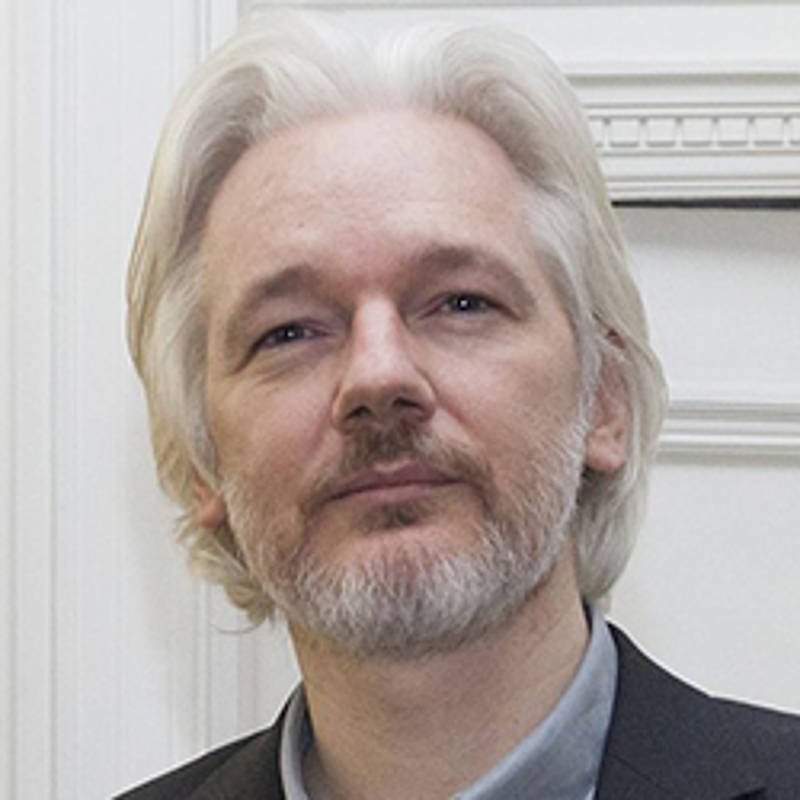 Julian Assange, Foto: David G Silvers. - https://www.flickr.com/photos/dgcomsoc/14770416197/, CC BY-SA 2.0, https://commons.wikimedia.org/w/index.php?curid=34813282