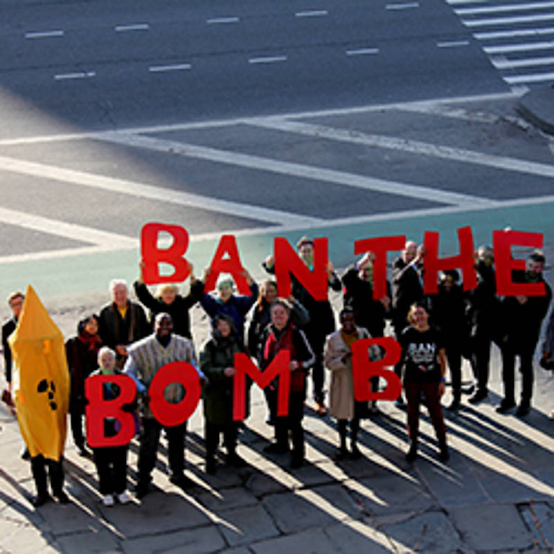 Ban The Bomb-Aktion New York, Foto: www.icanw.org