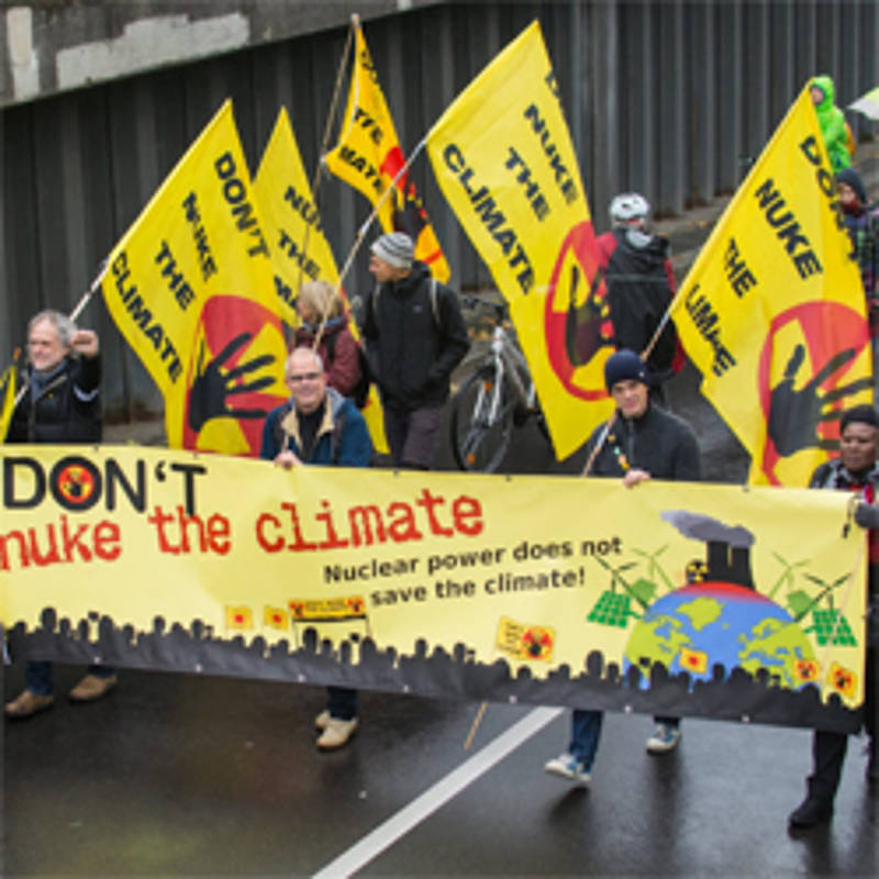 "Demonstration ""Don´t nuke the climate"" im November 2017 in Bonn, Foto: Don´t nuke the Climate"