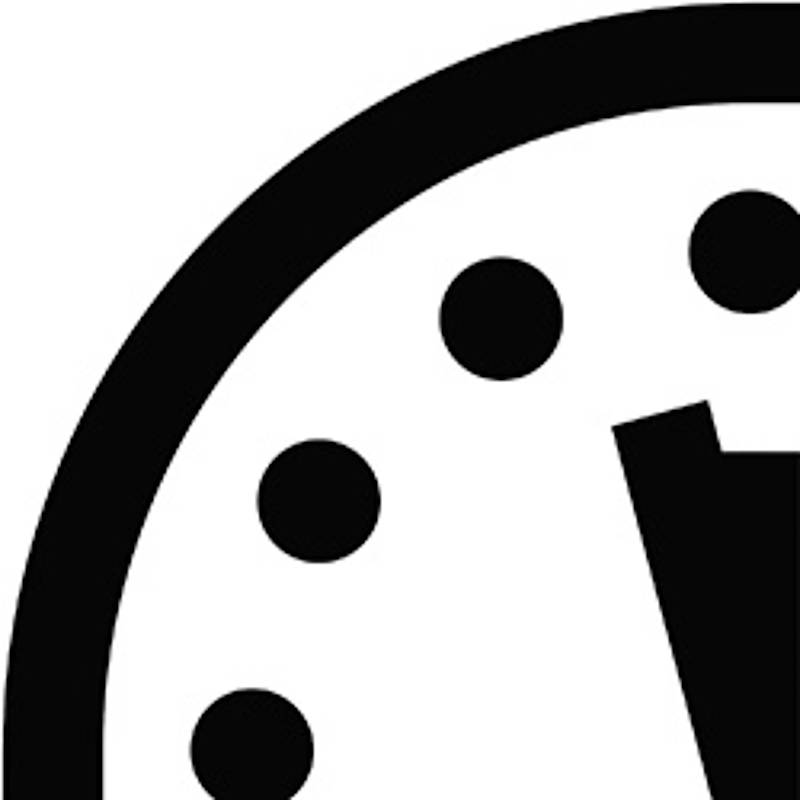 Doomsday Clock. Quelle: Bulletin of the Atomic Scientists