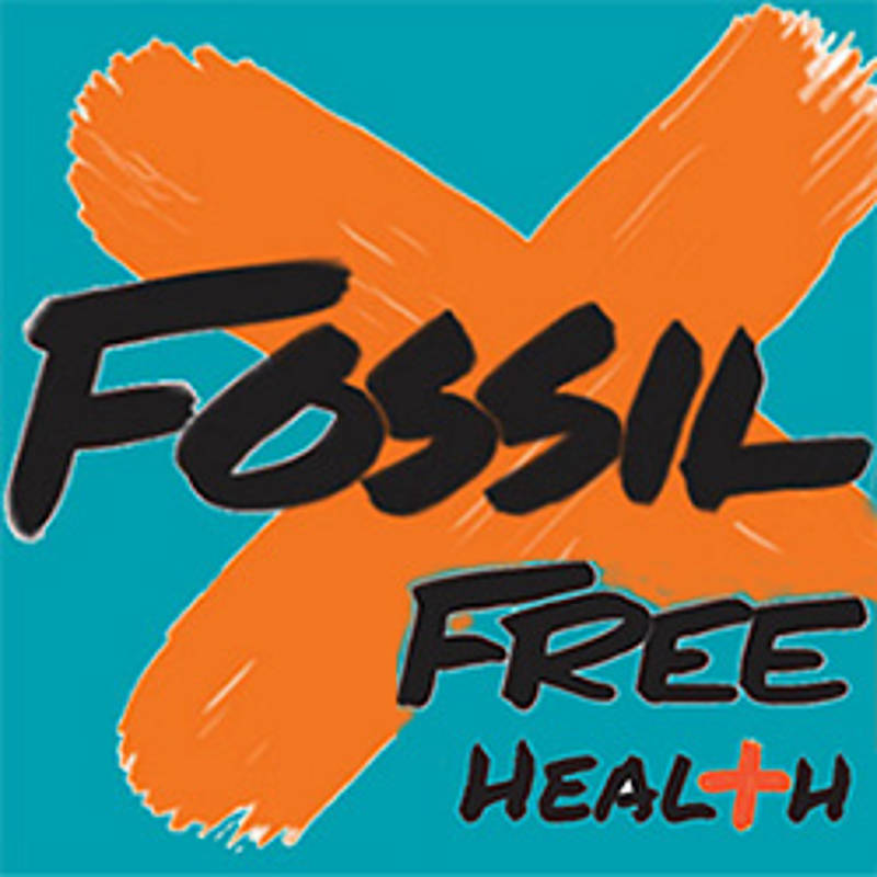 Fossilfree Health, Grafik: medact.org
