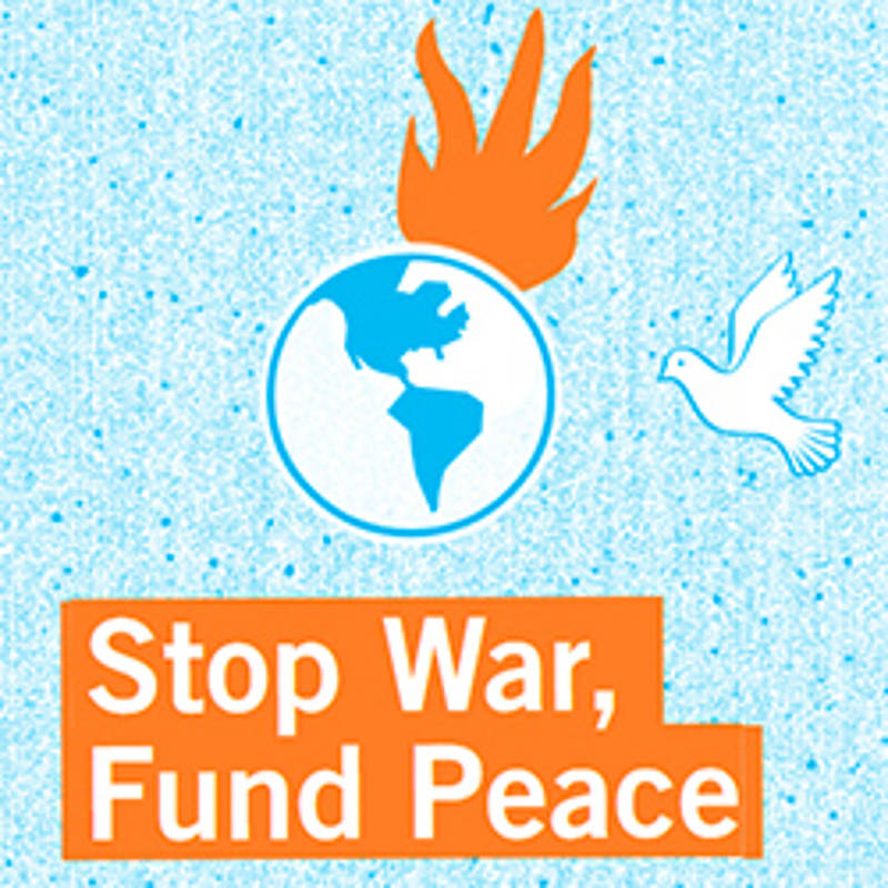 Stop War - Fund Peace - Fridays for future heißt auch Fridays for Peace!, Grafik: IPPNW