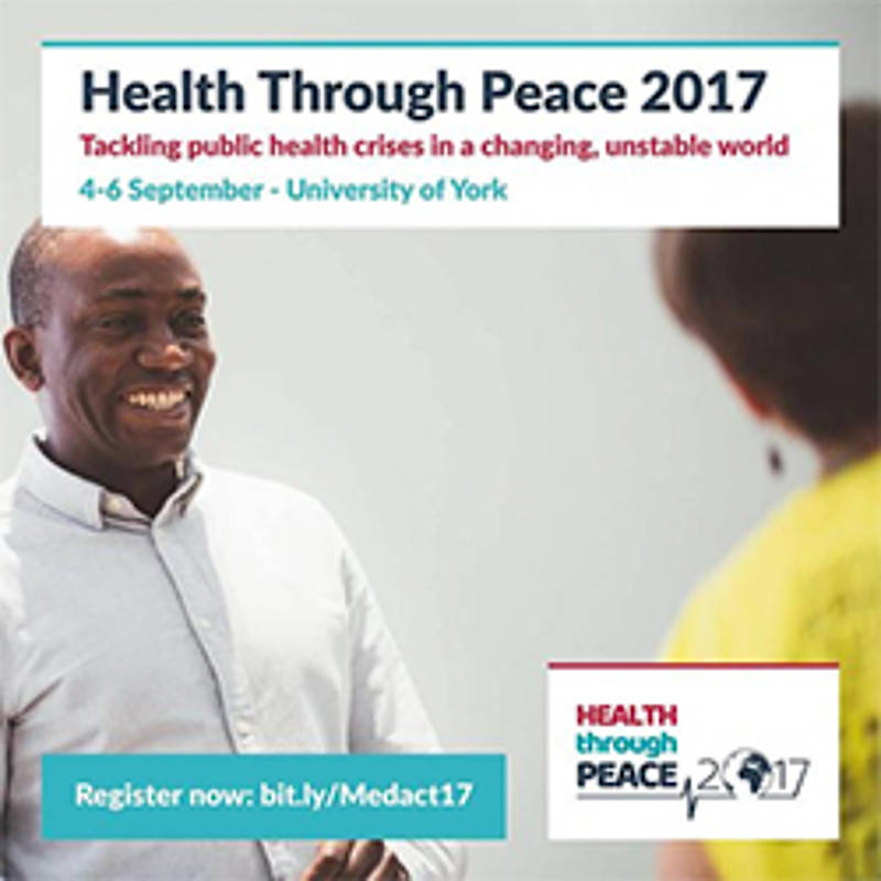 "IPPNW-Weltkongress ""Health Through Peace"", Foto: Medact"