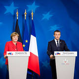 Merkel und Macron auf einem European Council Meeting im Juni 2017, European Council, https://creativecommons.org/licenses/by-nc-nd/2.0/
